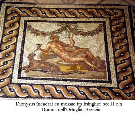 12.1.3.1 Dionysus; Mozaic sec.II e.n. Domus dell'Ortaglia, Brescia